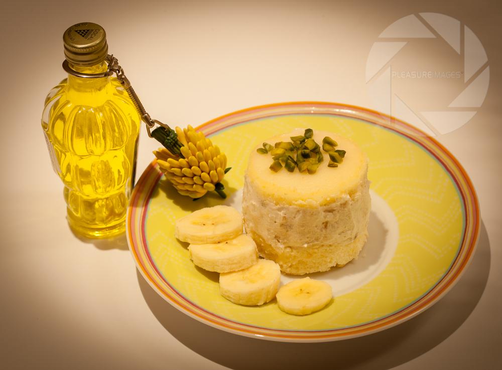 Banana mini cakes