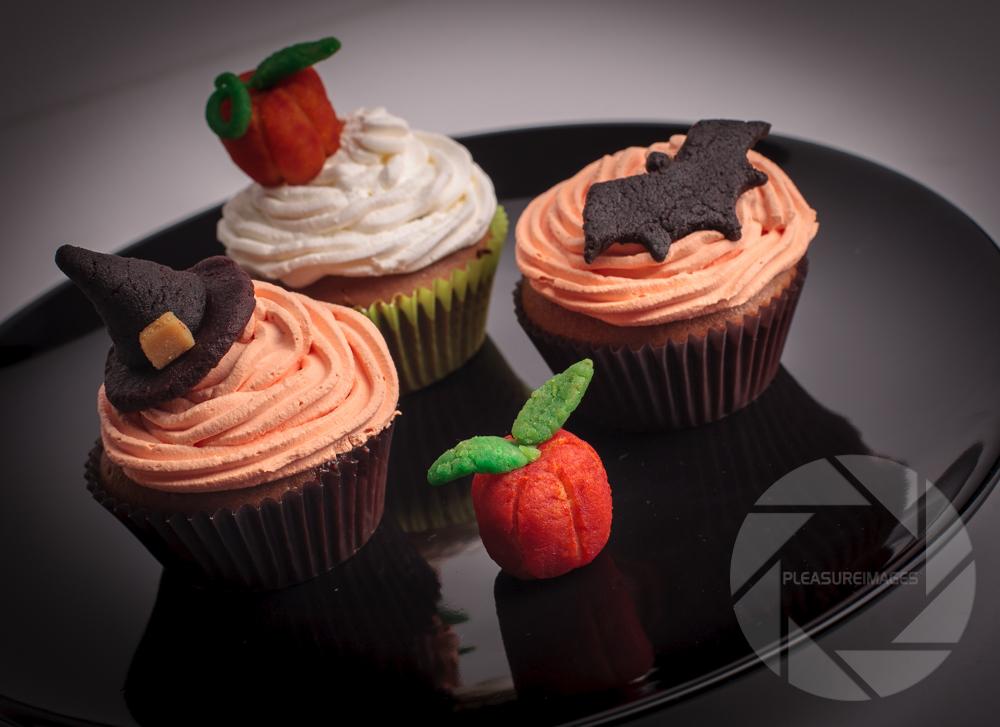 Halloween čokoladni muffini