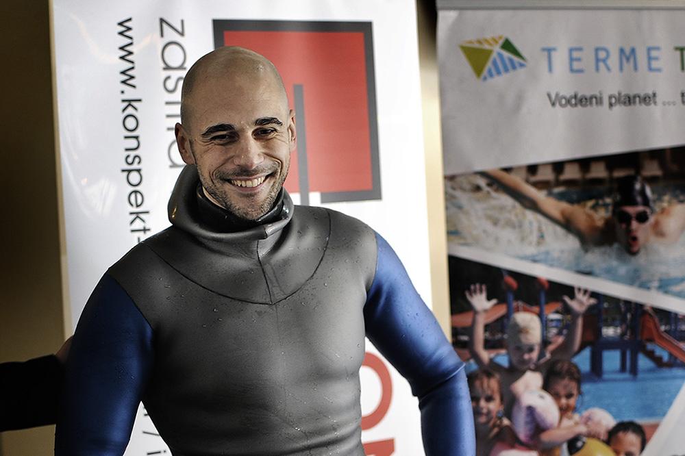 Goran Čolak – rekord u ronjenju na dah
