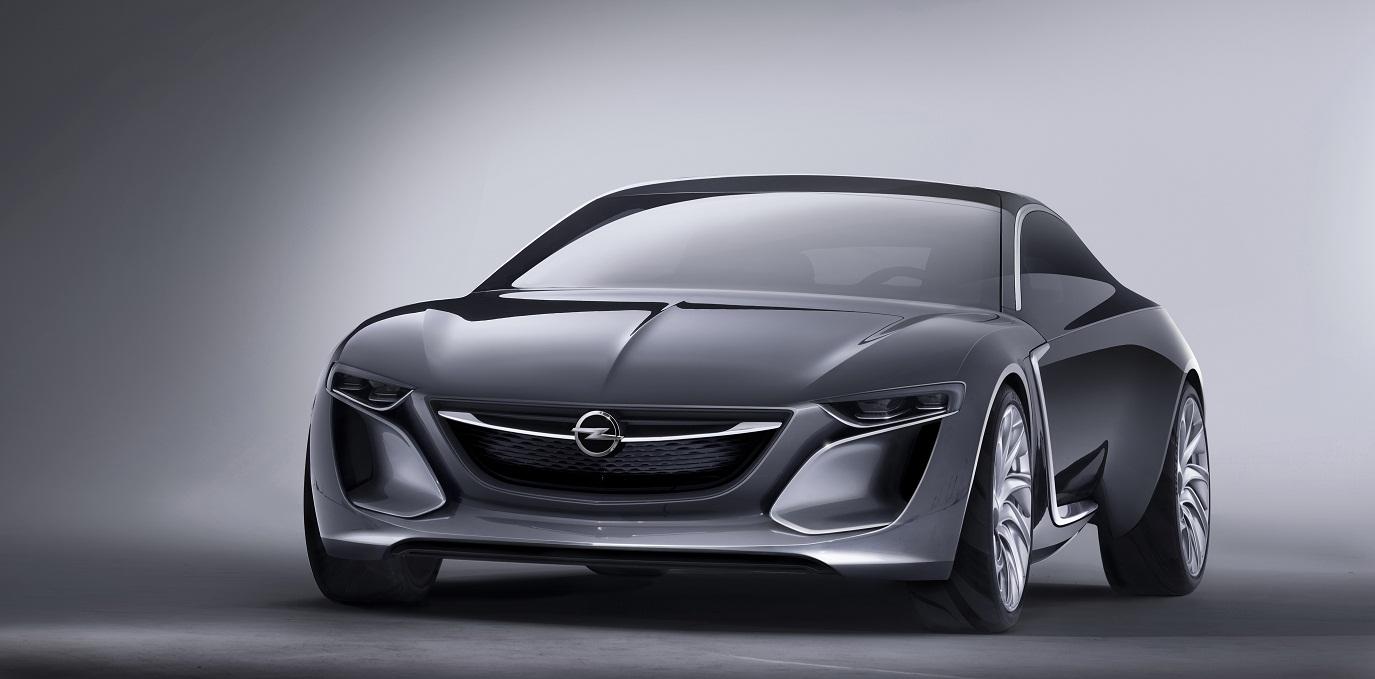 Konceptna Monza – slika Opela u budućnosti