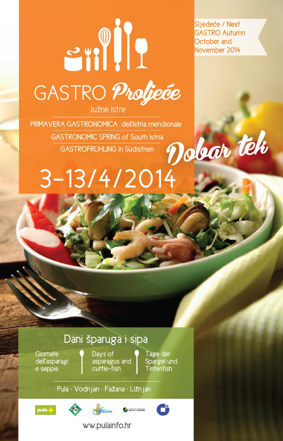 Dani šparuga i sipa 03-13.04.2014.