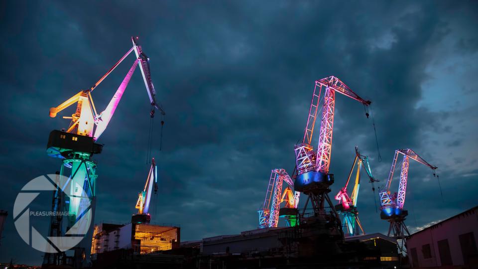 Pulski Svjetleći divovi i festival Visualia