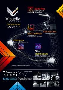 Visualia i Svjetleci divovi u Puli_3_svibnja2014_program