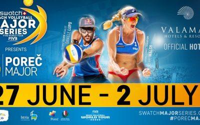 Swatch beach volleyball Poreč 2017.