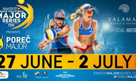 Swatch beach volleyball Poreč 2017.