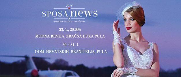 SPOSAnews2016 – Istarski festival vjenčanja